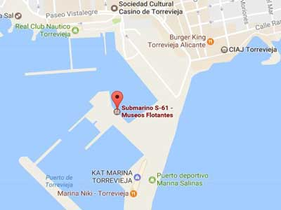 delfin submarine map location