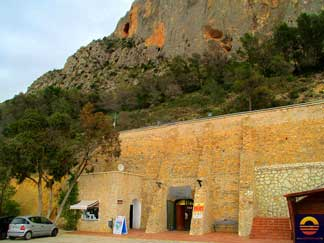 Mountain Cave Entrance