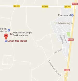 Lemon Tree Market Map