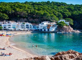 The Costa Brava, Northeastern Spain