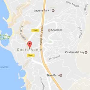 Costa Adeje Mapa