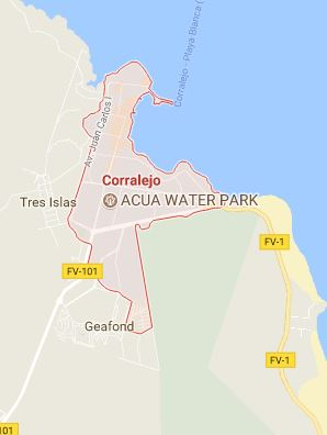 Mapa de Corralejo