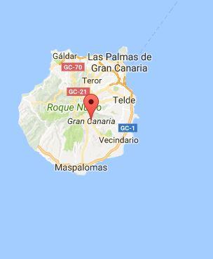 Gran Canaria mapa