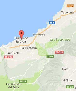Puerto de la Cruz Mapa