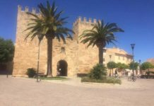 alcudia castle old town