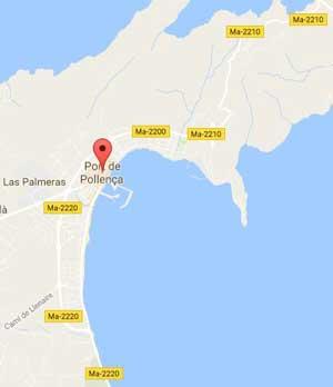 Puerto Pollensa Mapa