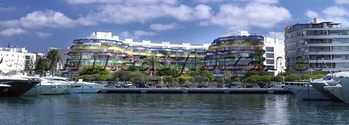 Botafoch Marina, IbizaTown