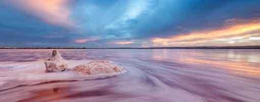 Torrevieja PInk Salt Lakes