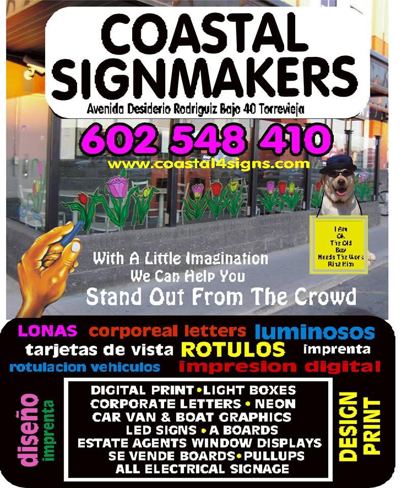 Costa Blanca Sign Makers