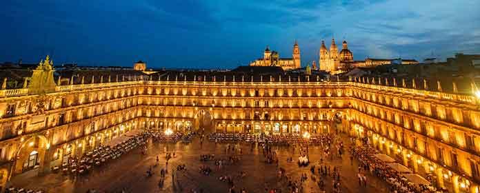 Salamanca Plaza, Castile and Leon