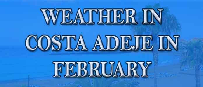 Weather in Costa Adeje in February