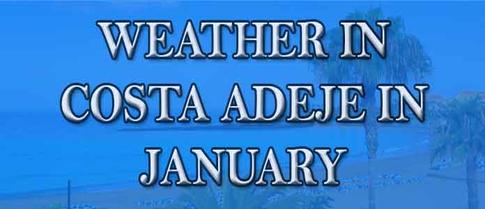 Weather in Costa Adeje in January